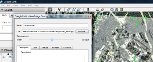 Nikki Pugh » using Google Earth to locate a map for use in