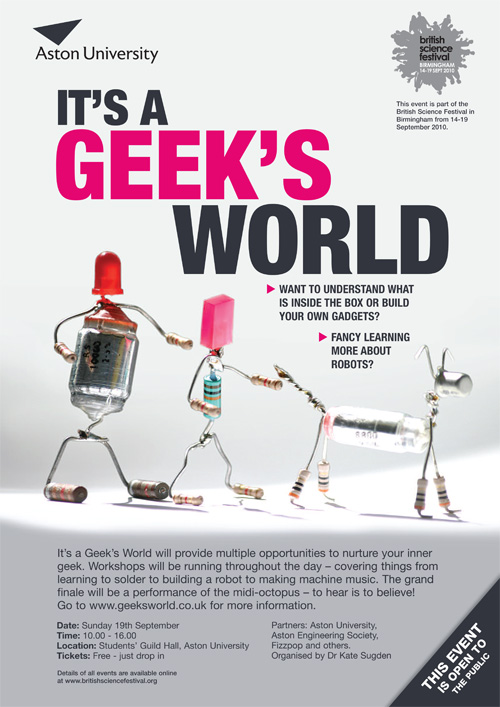 It's a Geek's World: Sunday 19th September, 10-4