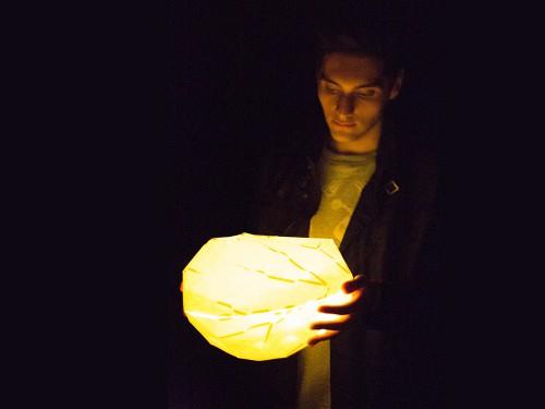 glowing pod